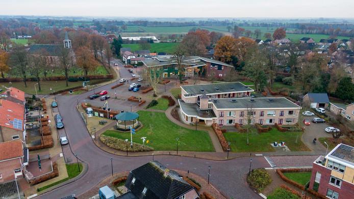 Woldplein in Steenwijkerwold