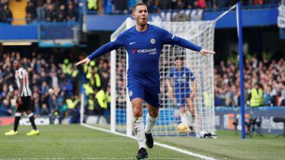 """Hazard blaast warm en koud over zijn toekomst: """"Zin om iets anders te ontdekken"""" versus """"Ik zit héél goed bij Chelsea"""""""