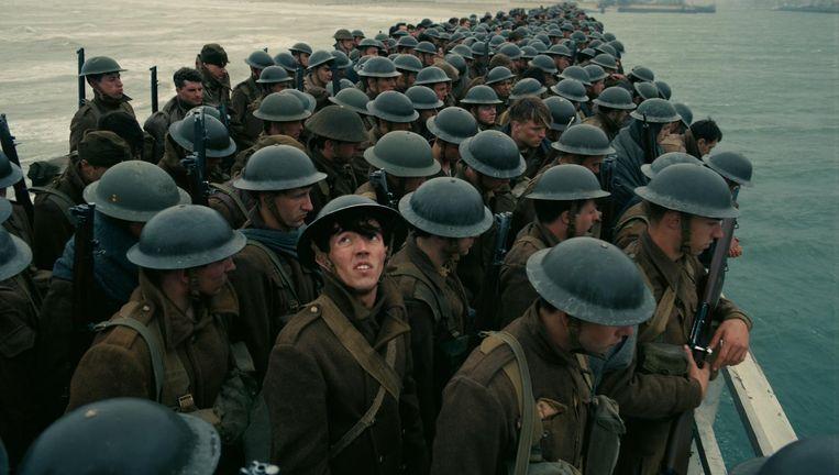 Scène uit Dunkirk. Beeld .