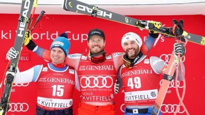 Noor Kjetil Jansrud wint Super-G van Kvitfjell en pakt eindzege