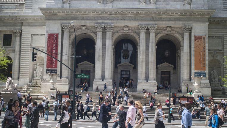 De bibliotheek van New York krijgt een renovatie Beeld