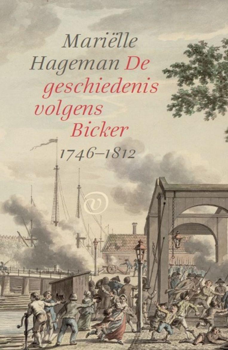 Omslag 'De geschiedenis volgens Bicker' Beeld