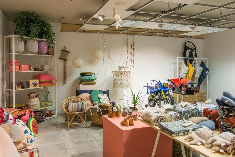 Bij Gekaapt Mini vind je alles voor de kinderkamer, van speelgoed en kleding tot meubeltjes. Beeld Jesper Boot