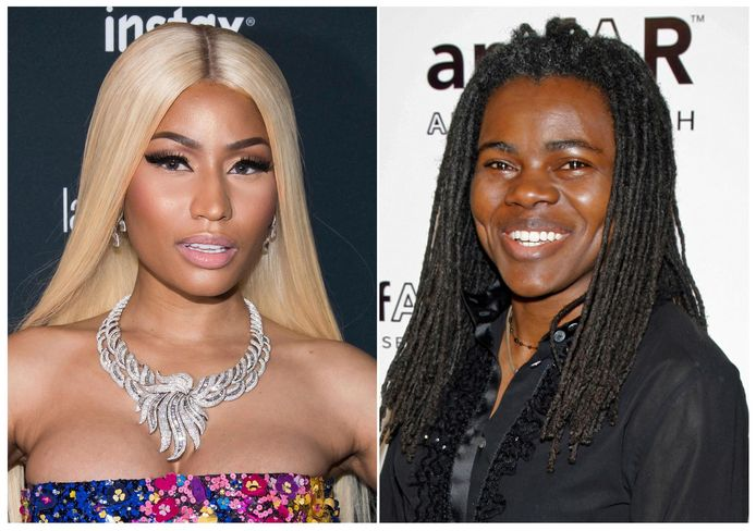 Nicki Minaj et Tracy Chapman