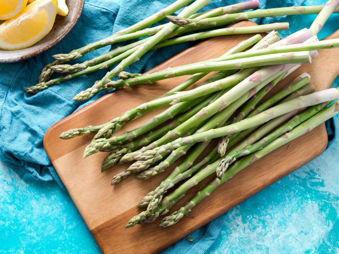 De slankere, groene asperge.