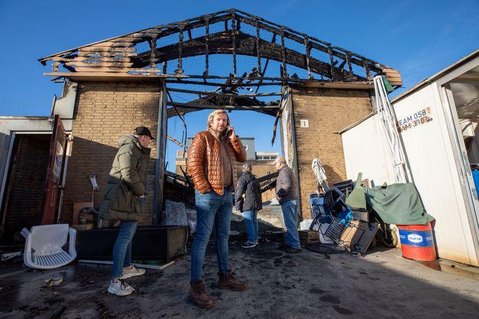 De kringloopwinkel van Edwin en Karin Rooney is afgebrand.