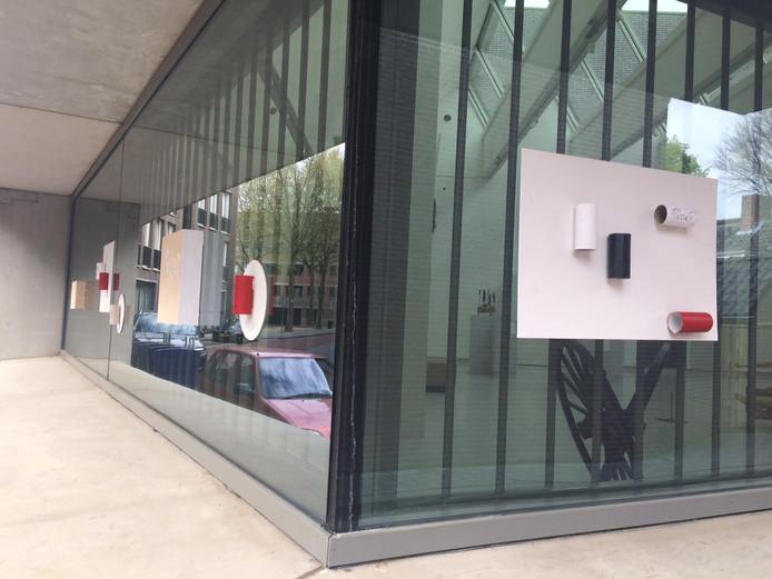 WC-rollen van Ralph Posset op het Noordbrabants Museum in Den Bosch.