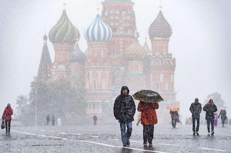 Het Rode Plein in Moskou.  Beeld afp