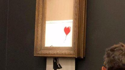 Zelf ook even zeefdruk van Banksy shredden? Nooit doen!