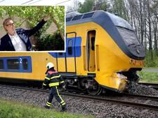 Emiel (56) zat in ontspoorde trein in Wouw: 'Een enorme klap, dit kon gruwelijk aflopen'