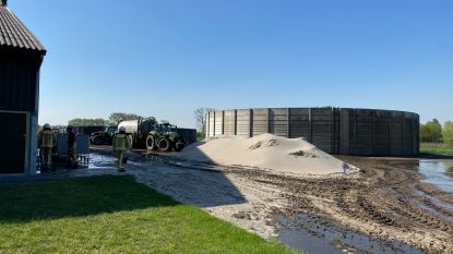 Honderdduizenden liters mest vloeien weg door defecte klep