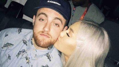 Ariana Grande brengt eerbetoon aan overleden ex Mac Miller