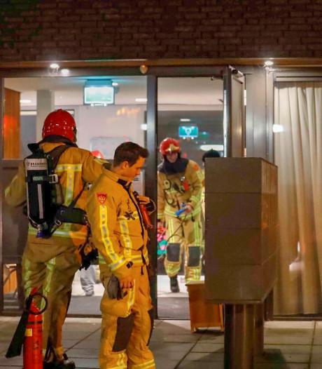 Brand bij woonzorgcomplex Lunet zorg in Eindhoven