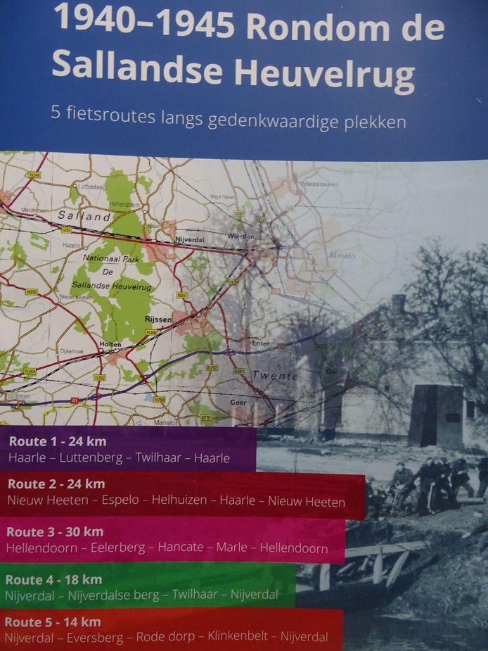 De cover van '1940 - 1945 Rondom de Sallandse Heuvelrug'.