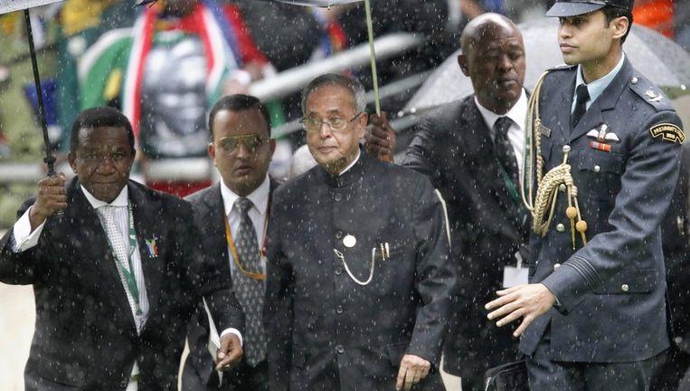 De Indiase president Mukherjee. Beeld epa