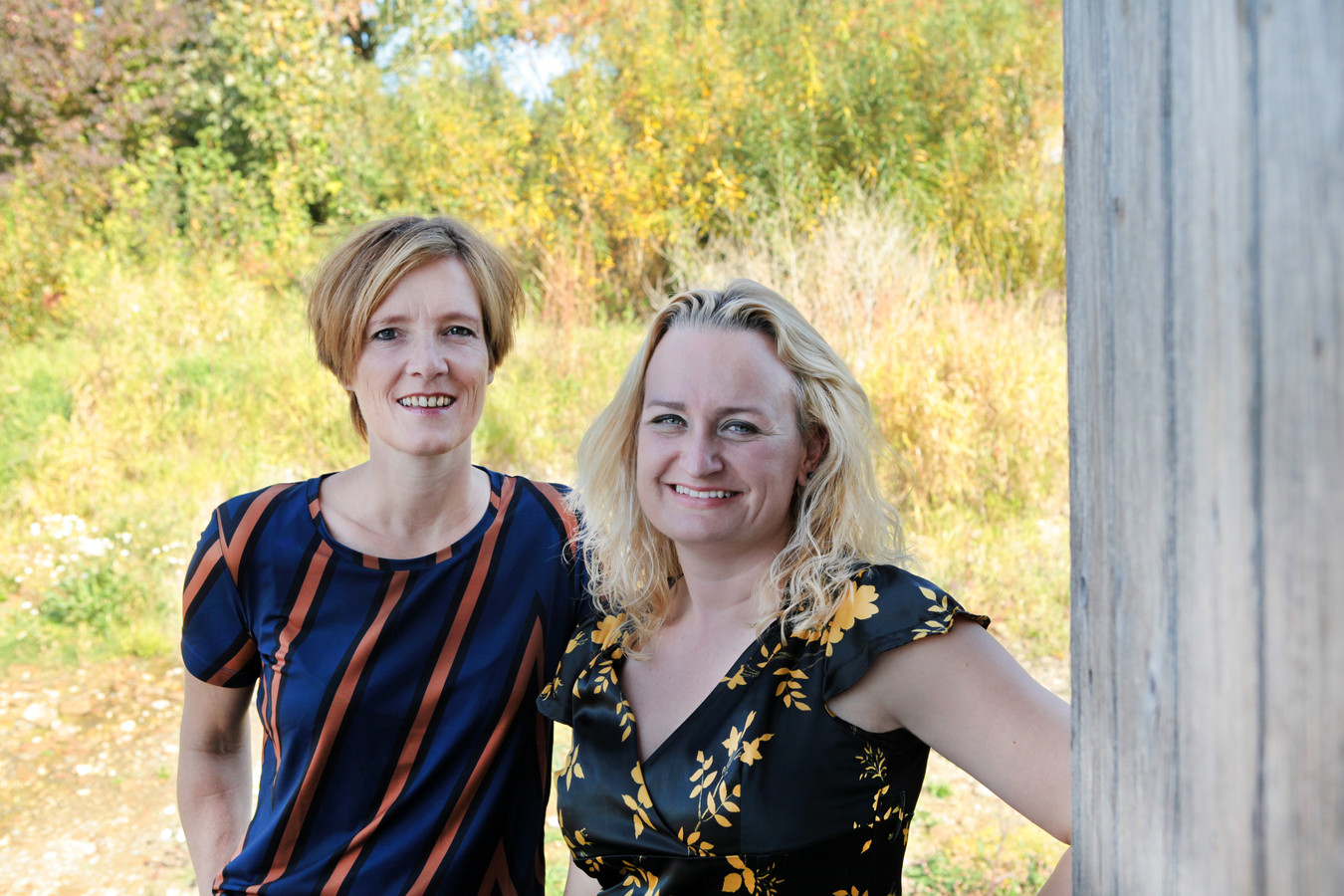 Monique Mulders (links) en Jikke Göbel.