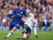 Bergwijn kopje onder met Spurs in spetterende derby tegen Chelsea
