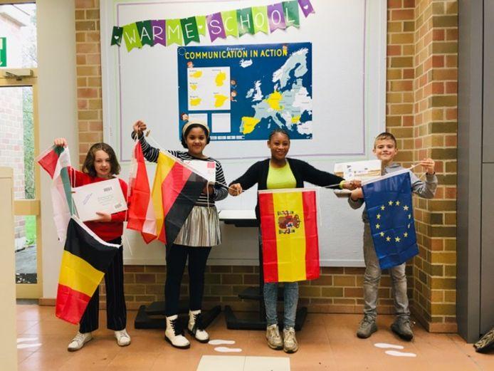 Basisschool Kameleon stapt mee in een Europees project