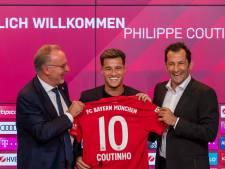 Bayern vraagt Robben om toestemming om '10' aan Coutinho te geven