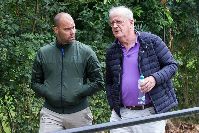 Technisch directeur Gerard Nijkamp en voorzitter Adriaan Visser van PEC Zwolle zijn net terug uit Qatar, waar ze gesprekken voerden met potentiële samenwerkingspartners en investeerders