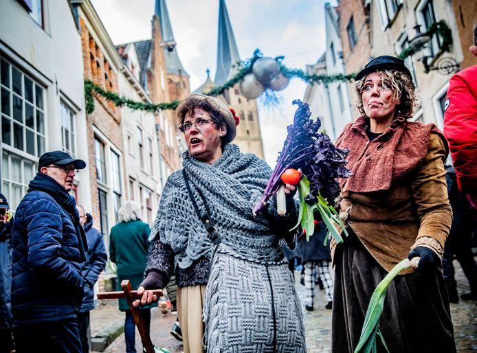 Geen overvol Bergkwartier vanwege het Dickens Festijn dit jaar. Het festival is afgeblazen.