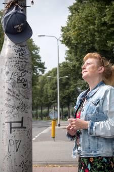 Lantaarnpaal die 18-jarige het leven kostte is nu de 'paal van Pieter'