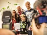Sem krijgt het eerste kinderlintje van Oldenzaal