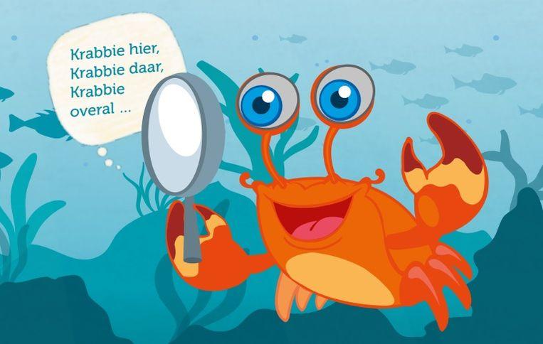 Deze krab genaamd 'Krabbie' gidst kinderen en gezinnen door Middelkerke.