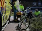 Fietser aangereden op rotonde in Oosterhout