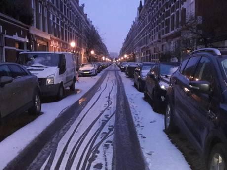 Zo ziet Den Haag er onder een sneeuwdeken uit