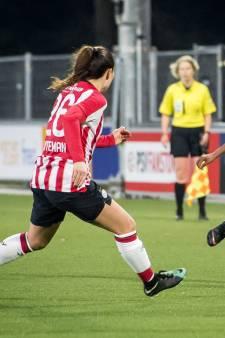 PSV Vrouwen geeft zege in slotfase weg