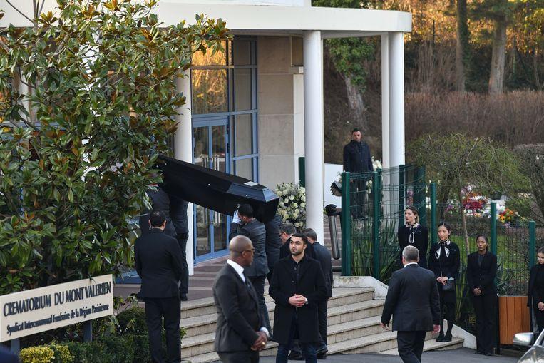 Het afscheid van Karl Lagerfeld.