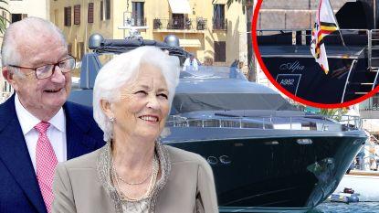Koning Albert en Paola varen na jaren weer uit met hun luxejacht (en doen dat nog altijd op kosten van defensie)