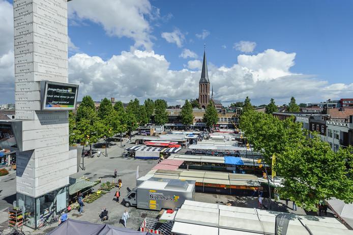 De markt in Hengelo