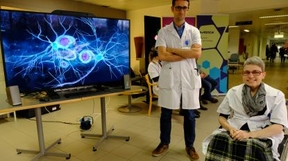Ziekenhuis pakt uit met reis door de hersenen in 'virtual reality'