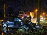 Auto botst tegen boom in Heukelom: bijrijder gewond naar ziekenhuis