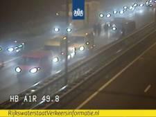 File Apeldoorn-Amersfoort op A1 geslonken na eerder ongeval met 6 auto's