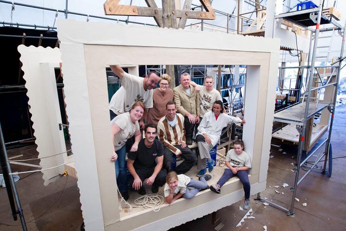 De groep 'Lambrekvrienden' koos voor Vluchtoord als onderwerp voor de Brabantse Dag.