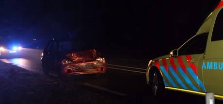 Gewonde bij ongeluk op Arnhemseweg in Renswoude