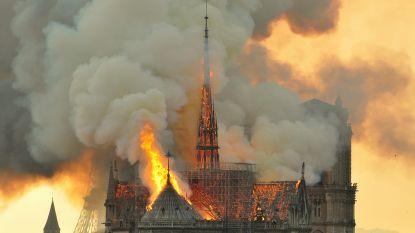 RECONSTRUCTIE. De eeuwenoude eikenhouten balken van de Notre-Dame zouden niet zo fel branden – maar dat deden ze wel