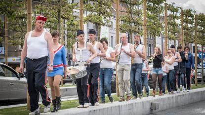 570 man gezocht voor langste fanfare