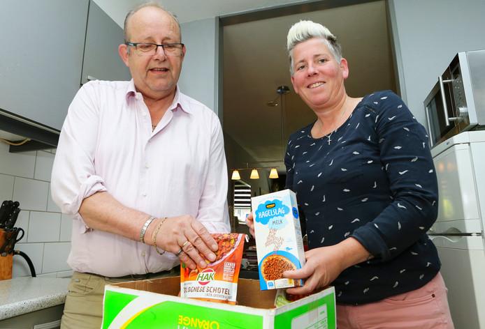 In de weggeefgroep van Bertus en Juditha van der Pot kunnen leden elkaar gratis eten aanbieden.