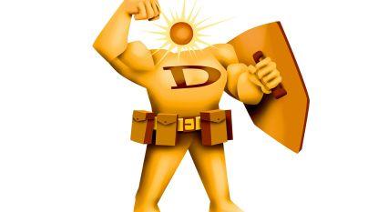 Half uurtje buiten is goed voor je dagelijkse portie vitamine D