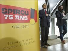 Spirou héros des fêtes de Wallonie pour ses 75 ans