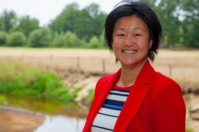 Jade Gundelach uit Enschede voelt zich vereerd met haar benoeming tot staatsraad bij de Raad van State.