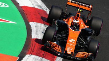 Vandoorne zet geen tijd neer en sneuvelt in Q2, pole in Mexico is voor Vettel (en daar is Duitser héél blij mee)