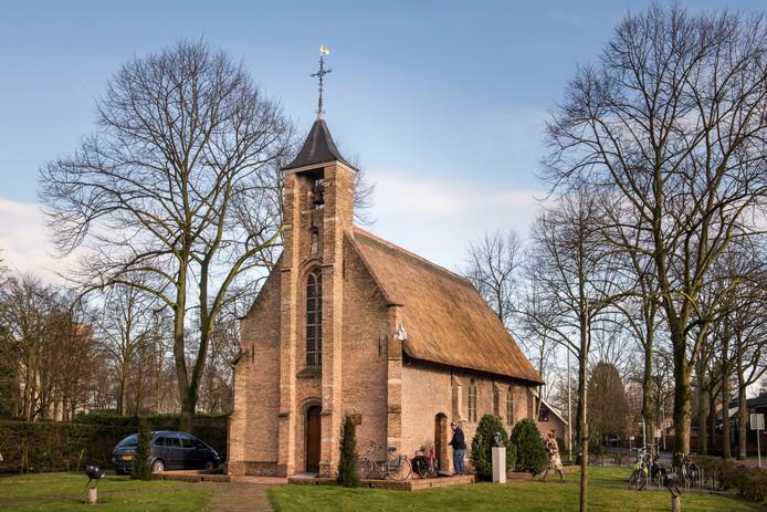 De Annakapel in Heusdenhout is nog altijd in gebruik.