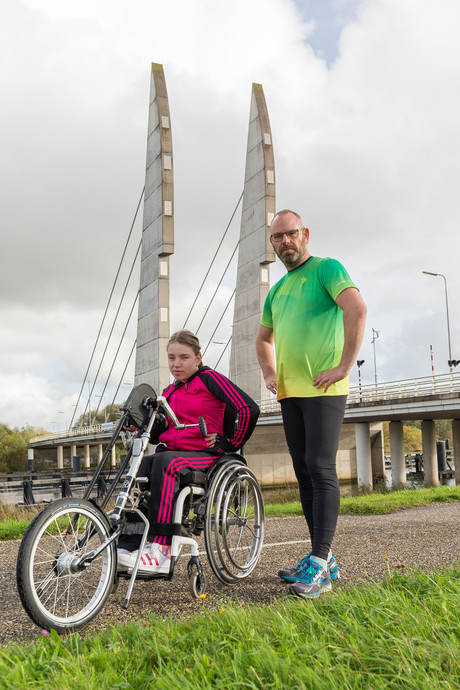 Sophia-Marie (14) hoopt op warm welkom bij volgende Stadshagenrun