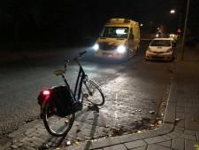Fietser met hoofdwond naar ziekenhuis na val in Elst