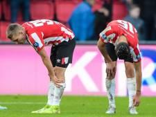 PSV scoort voor het eerst in 11 jaar in drie officiële duels op rij niet